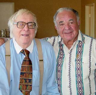 Ray Bradbury and EC's Al Feldstein in the Documentary