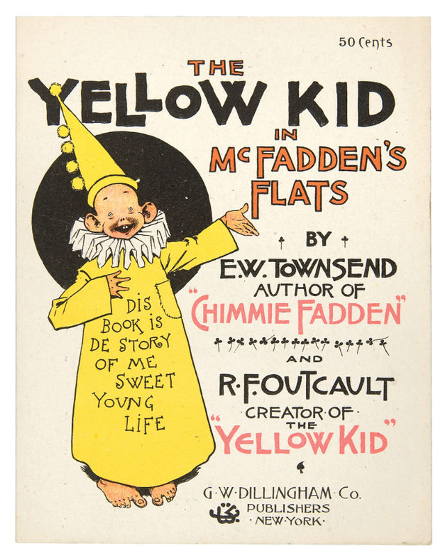 A History of Censorship: Richard Felton Outcalt and The Yellow Kid